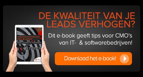 E-book: verhogen kwaliteit van de leads