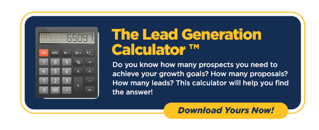 The Lead Generation Calculator