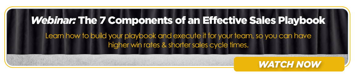 Webinar - The 7 Components of an Effective Sales Playbook