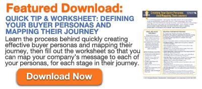 Quick Tip & Worksheet - Buyer Personas
