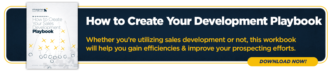 How to Create Your Sales Development Playbook