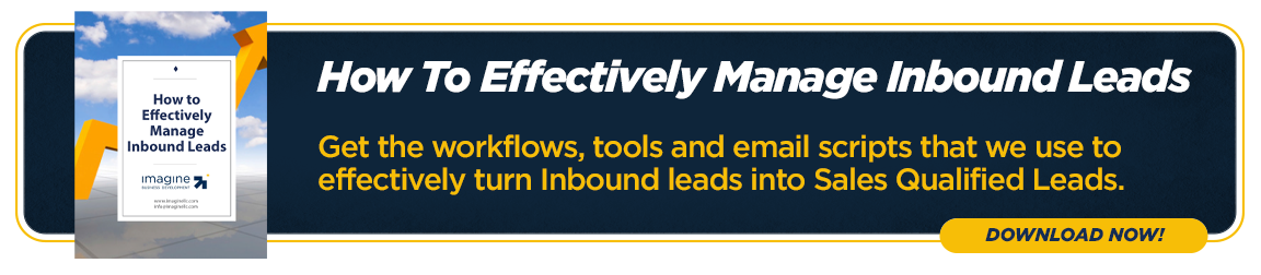 Effectively Manage Inbound Leads