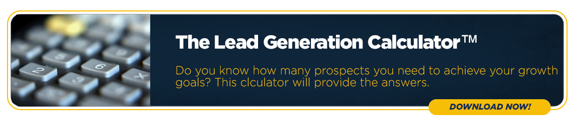 Download The B2B Lead Generation Calculator