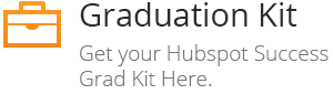 Graduation Kit - Get your Hubspot Success Grad Kit Here.