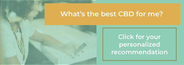 CBD Product Recommendation CTA