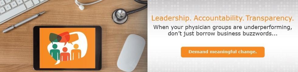 leadership. accountability. transparency.