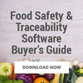 Food Safety & Traceability Software Buyer's Guide