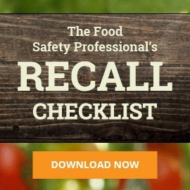 Food Safety Professional's Recall Checklist