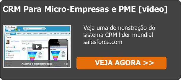 Demonstração crm salesforce.com pme e micro-empresas