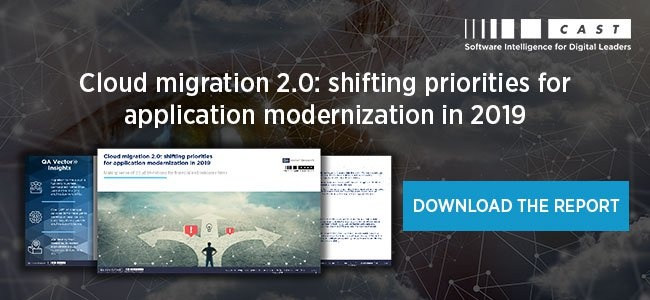 Cloud migration 2.0: shifting priorities for application modernization in 2019