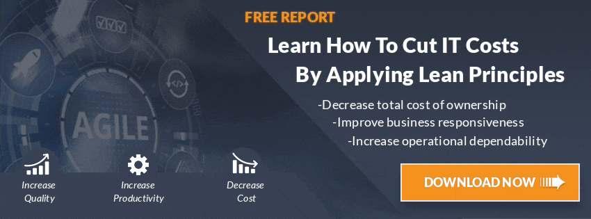 Cut IT Costs By Applying Lean Principles