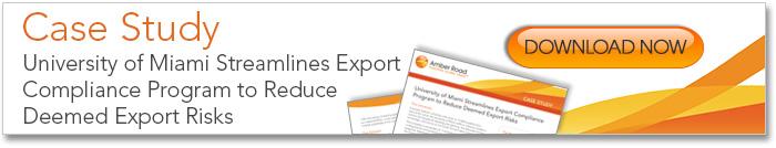 deeemed export risks