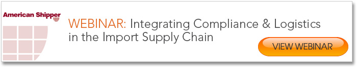 Integration Compliance and Logistics in the Import Supply Chain Webinar