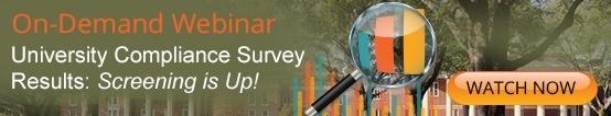 Amber Road's On-Deman Webiar: University Compliance Survey Results