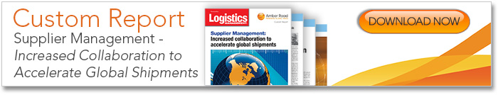 Supplier Management: Increased Collaboration to Accelerate Global Shipments