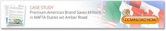 Premium American Brand Saves Millions in NAFTA Duties with Amber Road