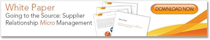 Supplier Relationship Micro Management