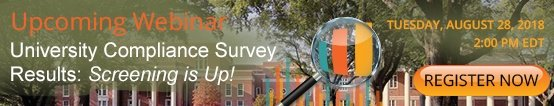 Webinar: How Does Your University Compliance Program Fare Against 70 Others?