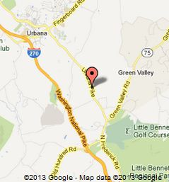 Google Map for J Allen Smith