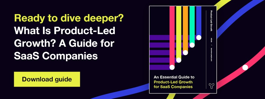 What Is Product-Led Growth? A Guide for SaaS Companies. Download guide