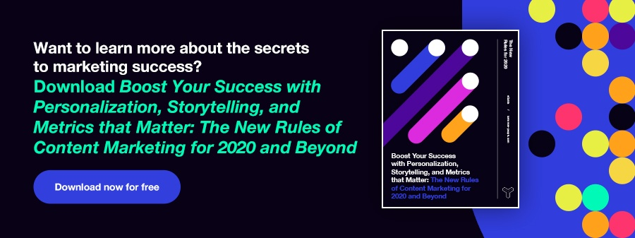 Download Boost Your Success with Personalization, Storytelling, and Metrics that Matter: The New Rules of Content Marketing for 2020 and Beyond