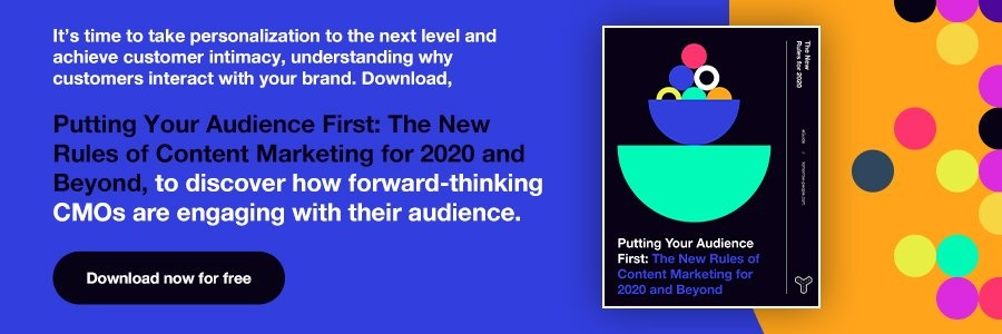Download Putting Your Audience First: The New Rules of Content Marketing for 2020 and Beyond now