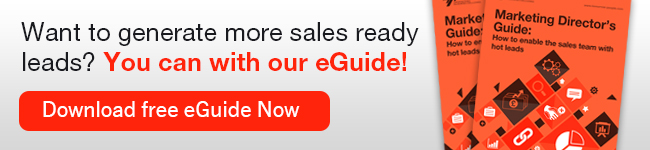 Want to generate more sales ready leads? You can with our eGuide!