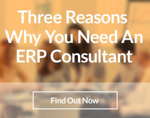 Three Reasons Why You Need An ERP Consultant