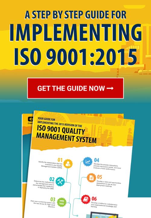 呼叫CMTC ISO 9001:2015实施指南的行动按钮