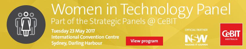 Women in Technology Panel @ CeBIT