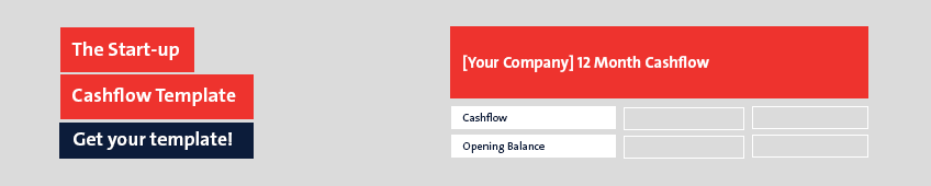 The Start-up Cashflow Template