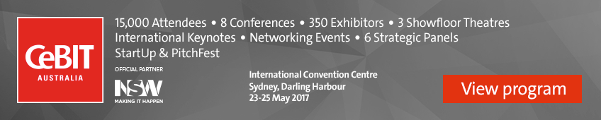 CeBIT Australia 2017, view program