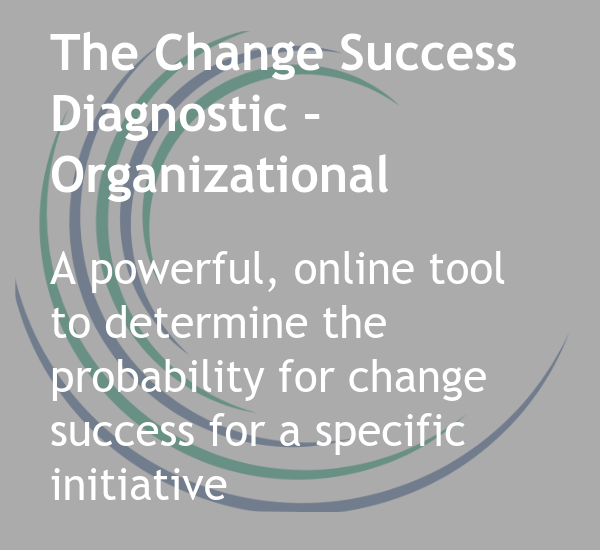 The Change Success Diagnostic - Organizational