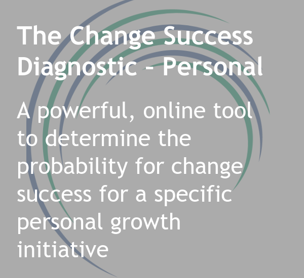 Change Success Diagnostic - Personal