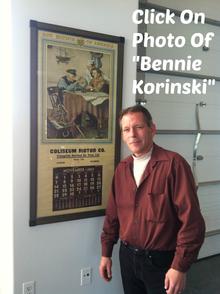 Bennie Korinski, Coliseum Motors