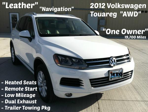 2012 Volkswagen Touareg AWD, Used SUv, Coliseum Motors