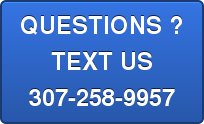 QUESTIONS ?TEXT US307\u002D258\u002D9957