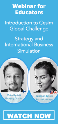 Cesim Global Challenge International Management Simulation Webinar