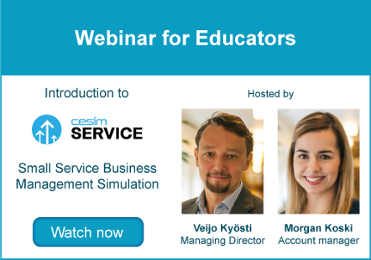 Webinar for Educators - Cesim Service