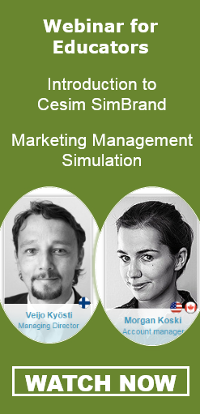 Cesim SimBrand Marketing Simulation Webinar