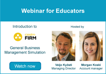 Webinar for Educators - Cesim Firm