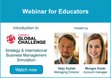 Webinar for Educators - Cesim Global Challenge