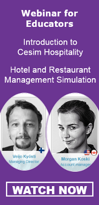 Cesim Hospitality Hotel Restaurant Management Simulation Webinar