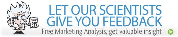 Get your free marketing analysis and improve your marketing today