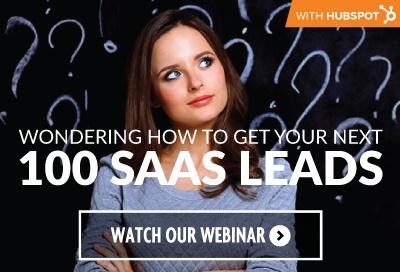 Adhere-HubSpot-Will show you how to get your next 100 SaaS leads register now.