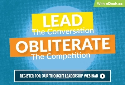 attract new b2b clients through thought leadership: Watch Webinar