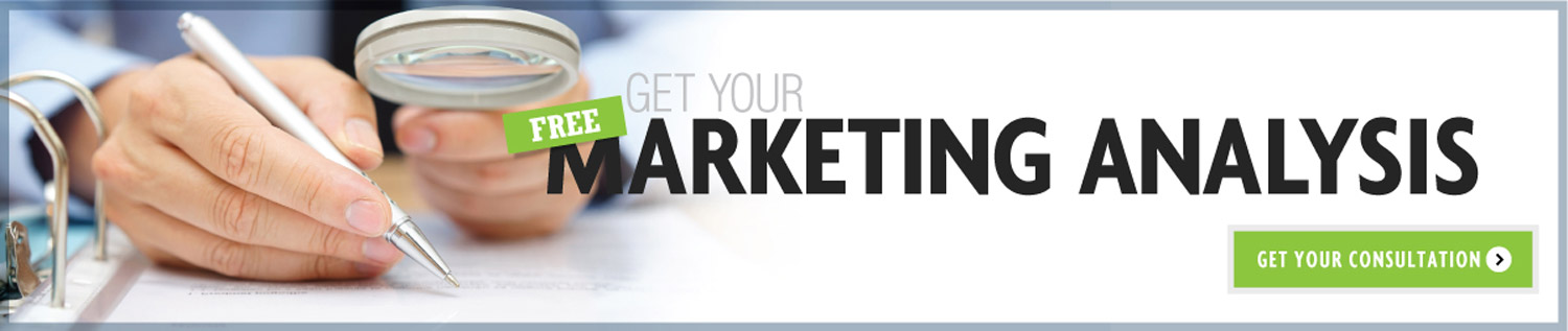Get your free marketing analysis