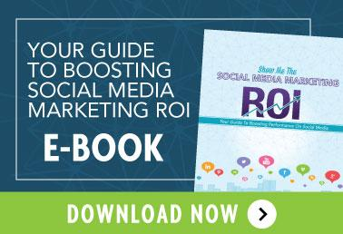 Your guide to Social Media Marketing ROI - ebook