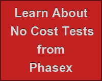 Learn AboutNo Cost TestsfromPhasex