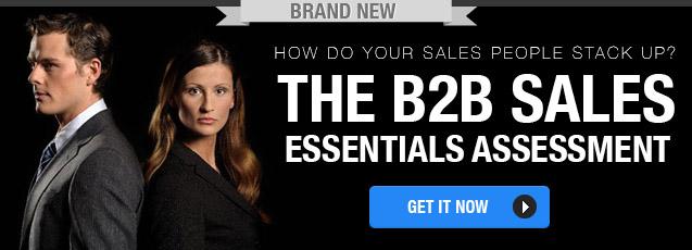 The B2B Sales Essentials Assessment